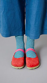 I will always, always wear striped socks and Mary Janes. Maybe not always, but sometimes