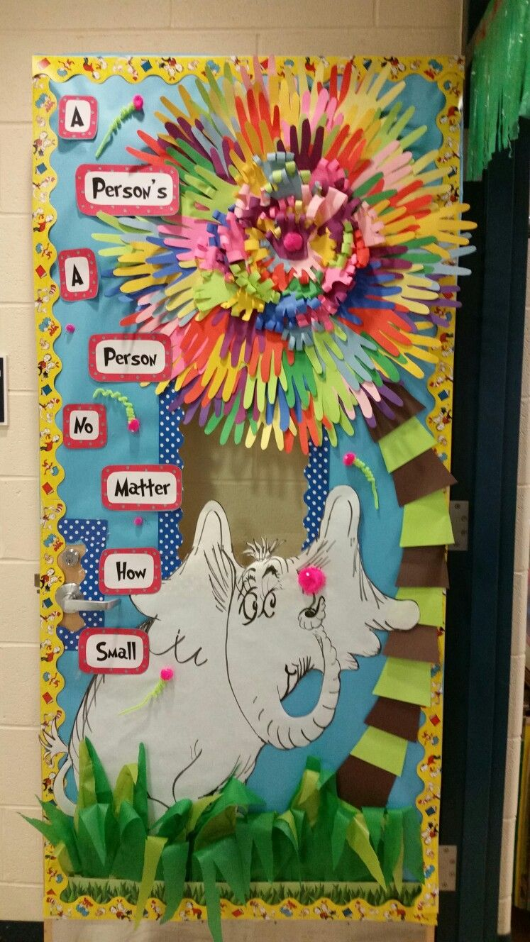 Door Decorating Dr Seuss Door Designs