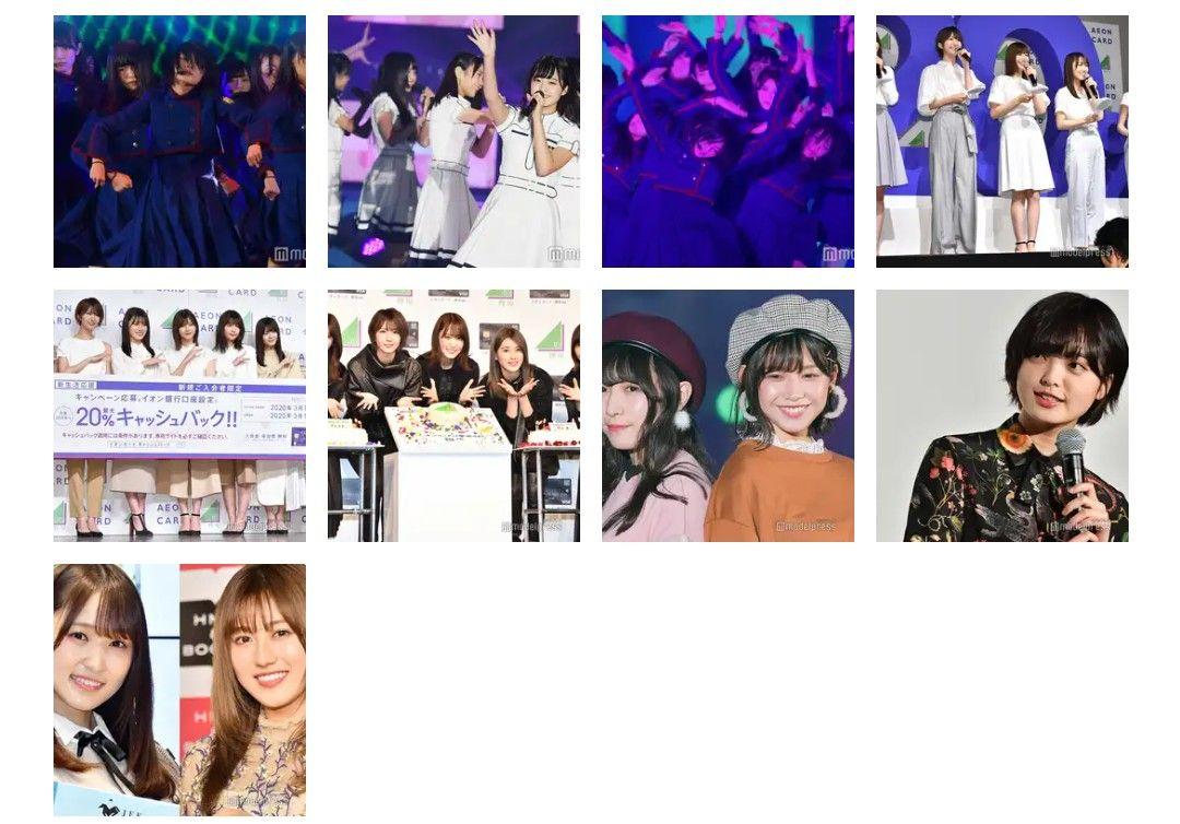 欅坂46から櫻坂へ モデルプレス モデル 動画 欅