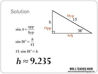 maths ppt for class 10 trigonometry download