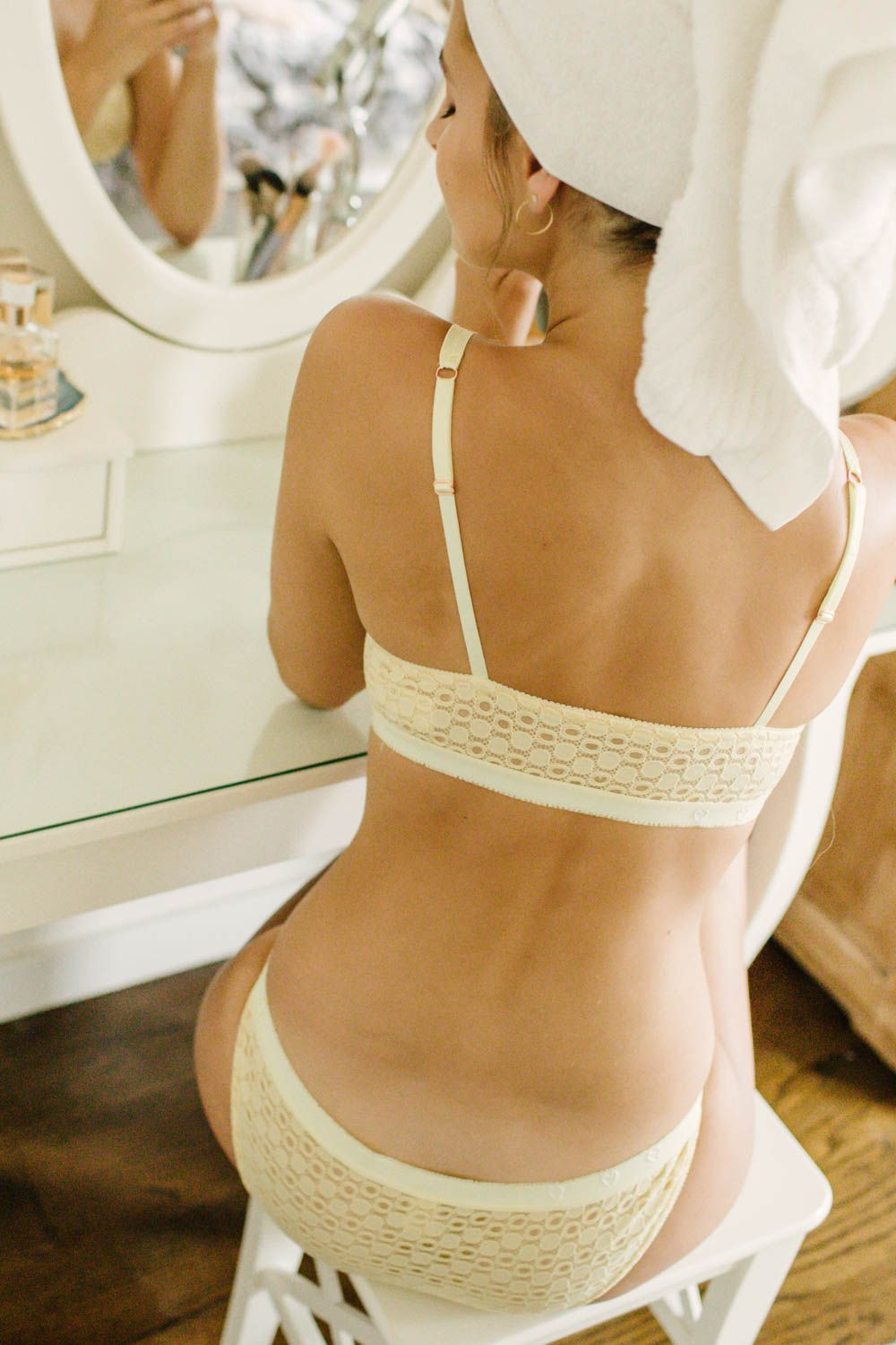 d7299f9a8 What bralette am I wearing day in and day out  The Barrett bralette by Madalynne  Intimates + Lingerie Affordable