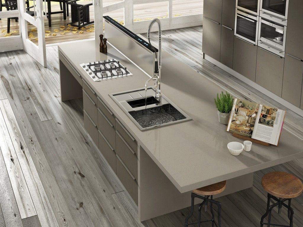 Cocina de Silestone en color ROUGUI | Kitchens Silestone by ...