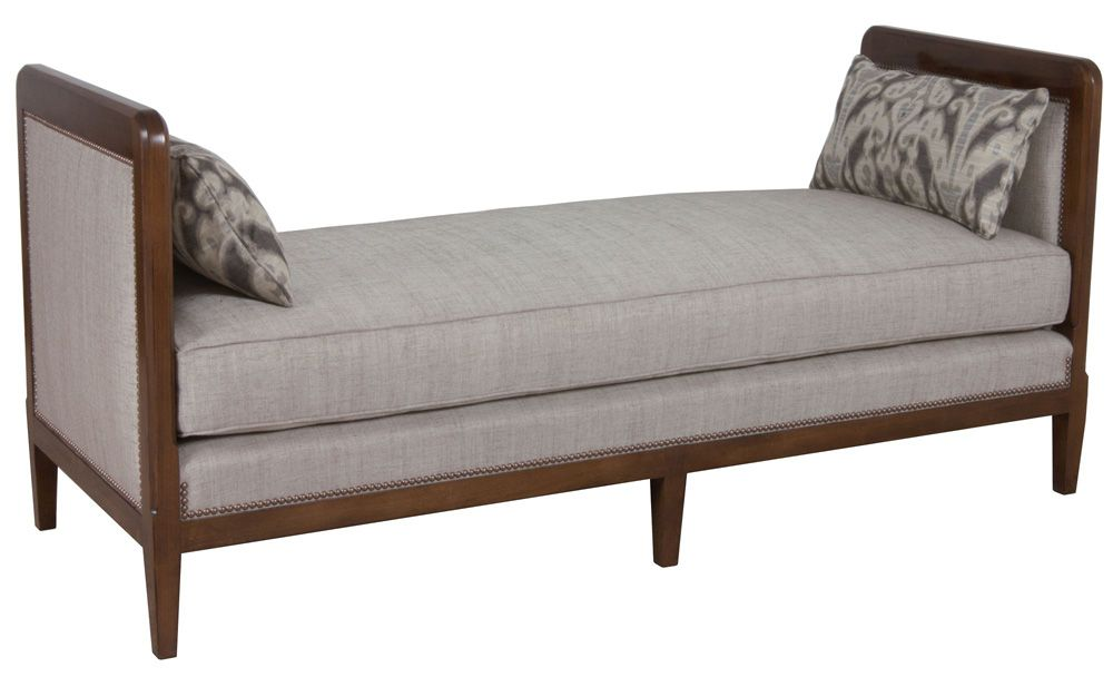 Lorts Upholstered Bench with Arms