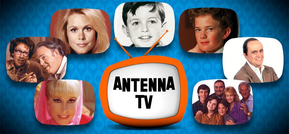 Antenna TV | Classic TV Guide & People | Classic tv, Tv