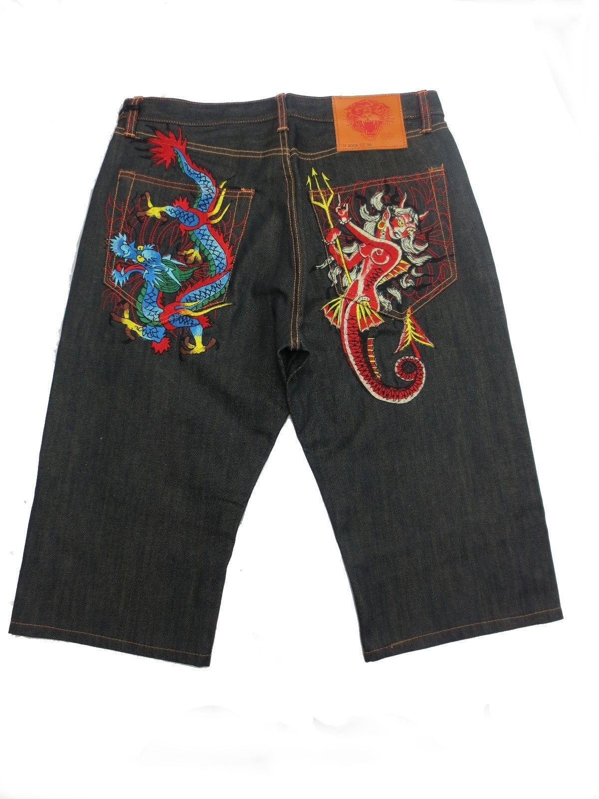 Arrested Mens Designer Slim Stretch Vintage Chinos /& Denim Jeans Shorts