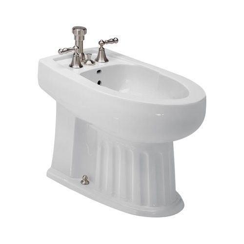 7119 003 St Thomas Creations White Bidet Bath Accessories Sink