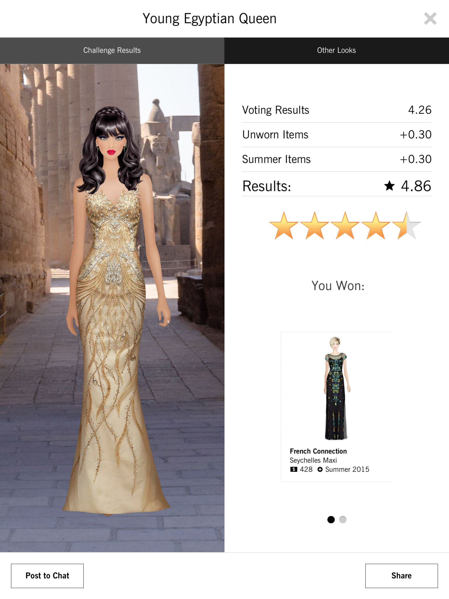 Young Egyptian Queen | Covet Fashion Game | Pinterest | Egyptian ...