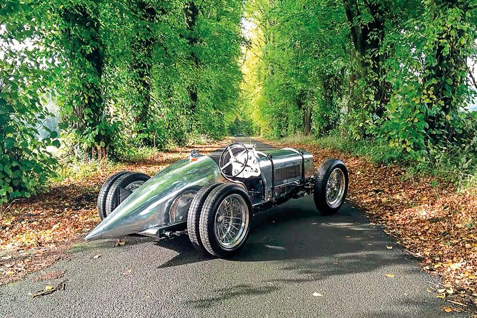 Six-wheeled MG special on the market | Auctions and For-Sale ...