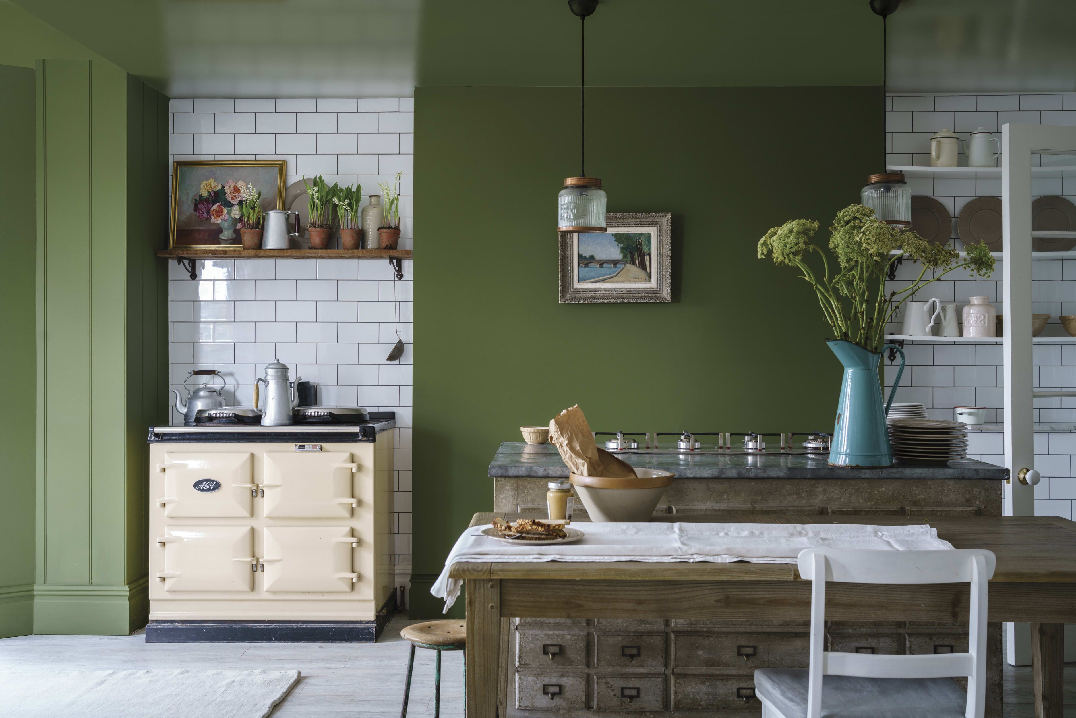 Pittura Verde In Cucina New Farrow And Ball Paint Colors September 2018 Colori Per Le