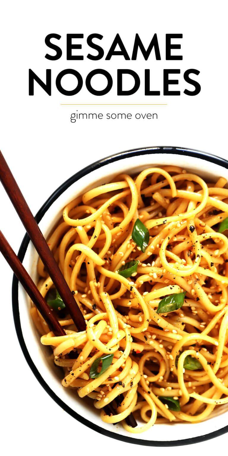 Sesame Noodles #chickensidedishes