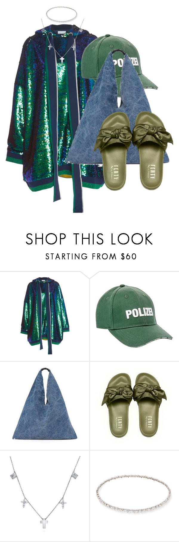 """Untitled #1947"" by palemermaid ❤ liked on Polyvore featuring Mira Mikati, Vetements, MM6 Maison Margiela, BERRICLE and Suzanne Kalan"
