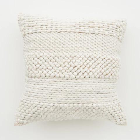 Josie Beige Pillow   Beige pillows, Pillows