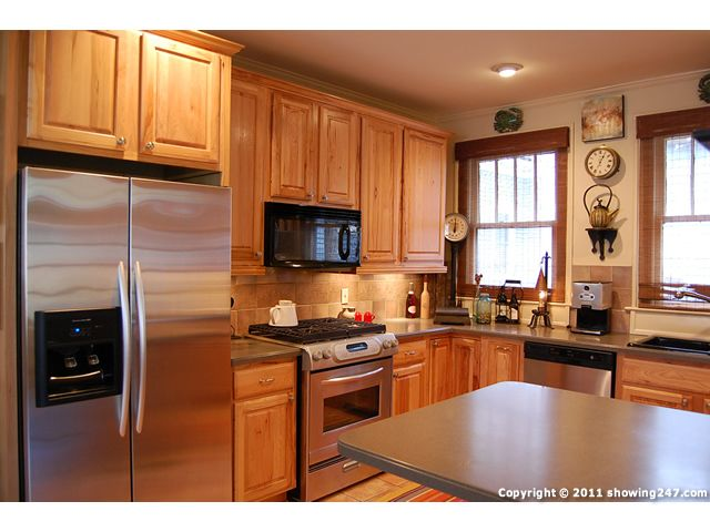 oak cabinets with stainless steel appliances pictures google
