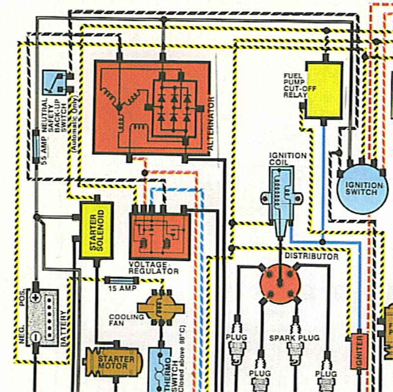 cycle electric generator wiring diagram using an old car alternator to generate electricity endless  using an old car alternator to generate
