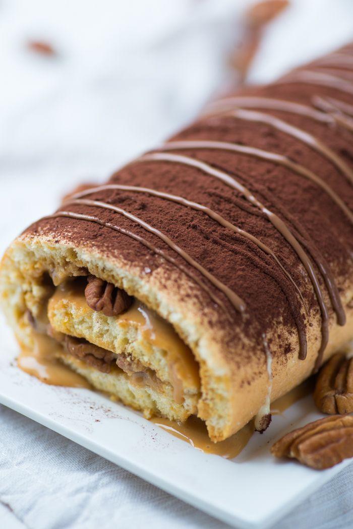 Pecan Pie Cakerol