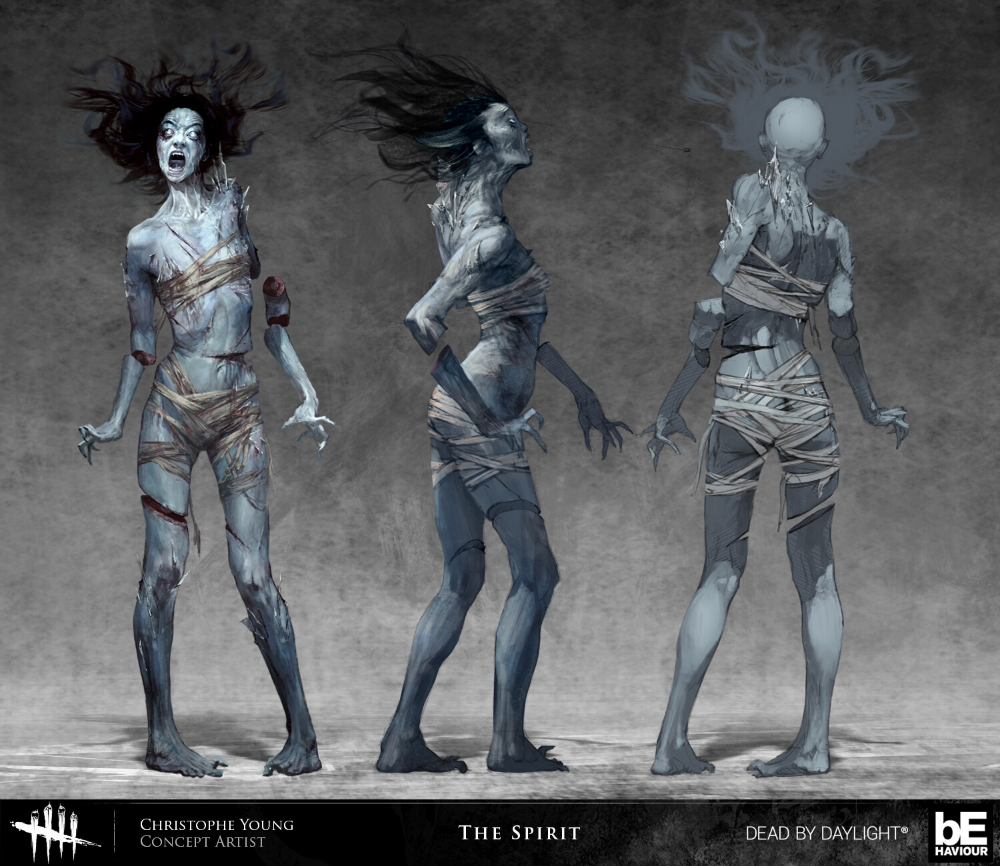 Artstation Dead By Daylight Chapter 9 Christophe Young In 2020 Fantasy Monster Creature Concept Art