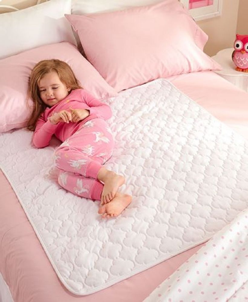 Waterproof Mattress Pad Quilted Washable Bed Protector Toddler Baby Crib Bedding Unbranded Waterproof Mattress Pad Baby Crib Bedding Crib Mattress Protector