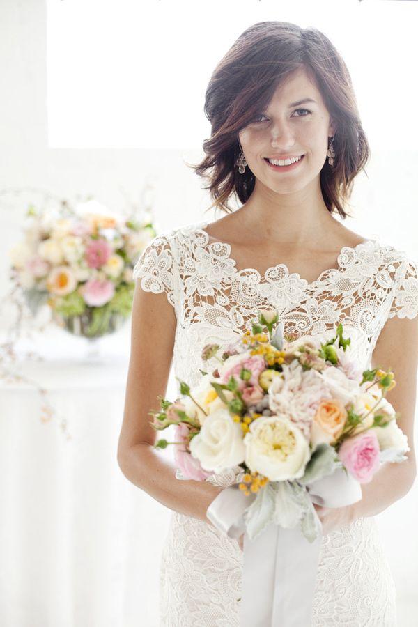 Gorgeous wedding dresses pinterest spring wedding flowers spring wedding flower trends by tessa woolf mightylinksfo