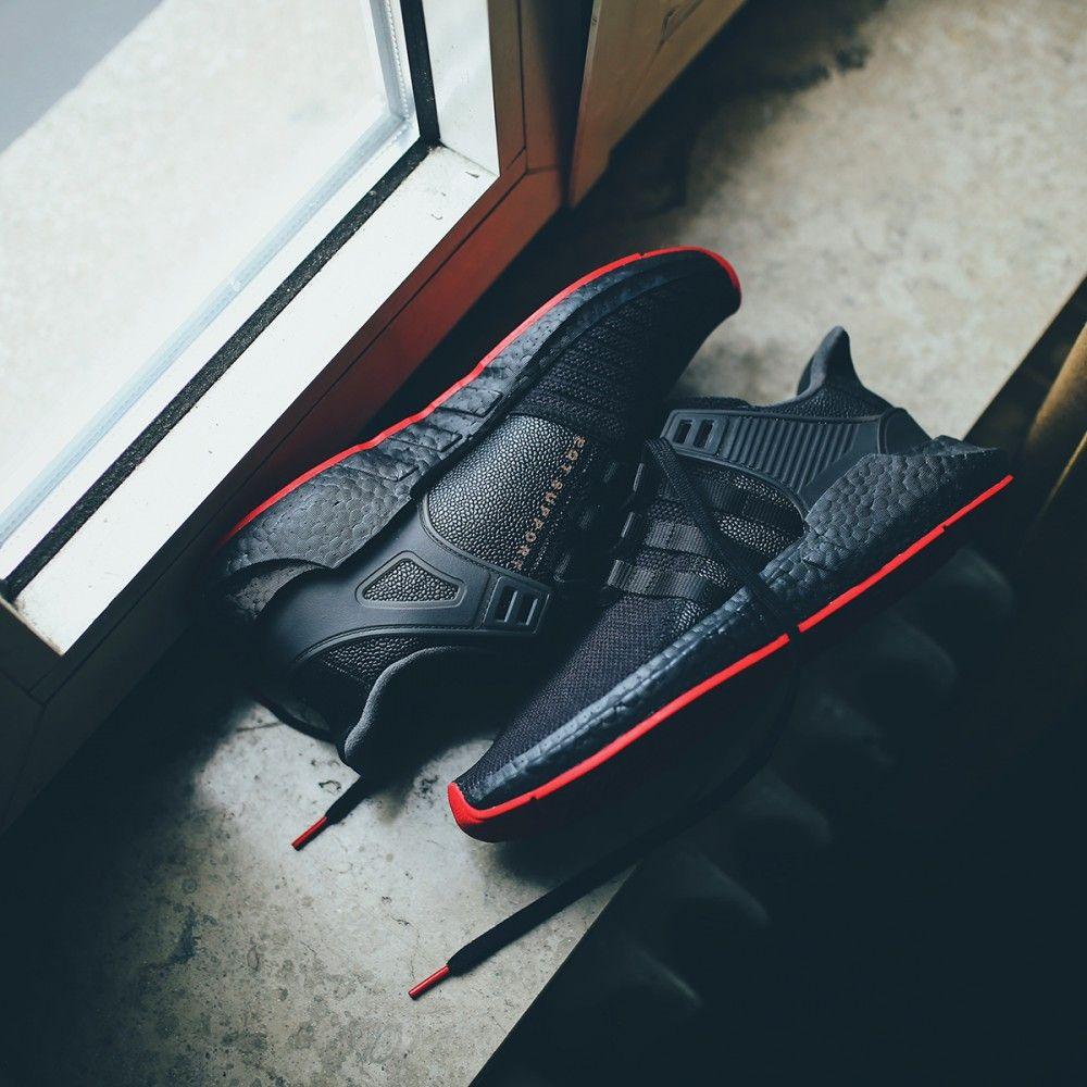 5c7870615790b adidas Originals EQT Equipment Support 93 17 Boost  Red Carpet Pack   (schwarz   rot) - Versandkostenfrei ab 75€ - thegoodwillout.com