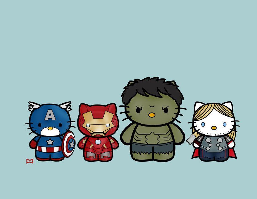 Kitty avengers assemble