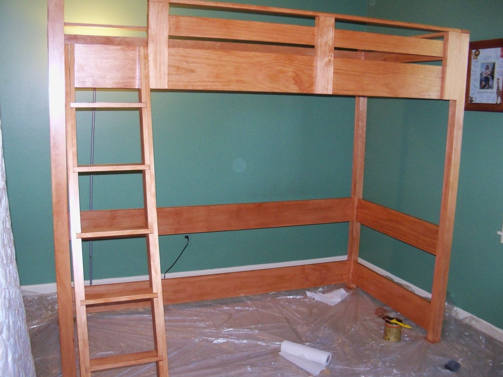 Full Size Loft Bed Plans Loft Bed Inspirations How To Build A Full Size Loft  Bed