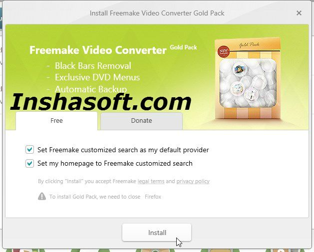 freemake video converter (crack gold pack subtitle pack super speed pack)