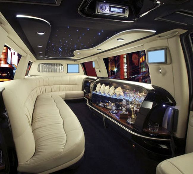 limo interior automotive limo cars limousine interior