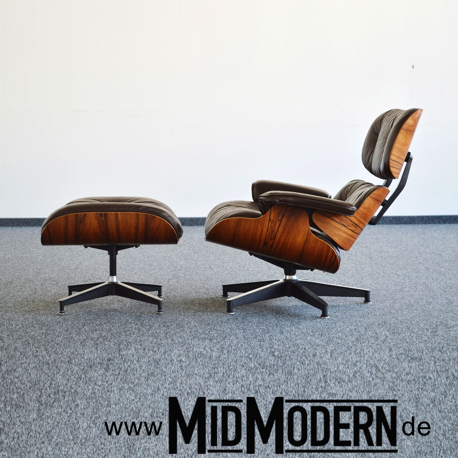 Eames Lounge Chair & Ottoman by Herman Miller, 1978