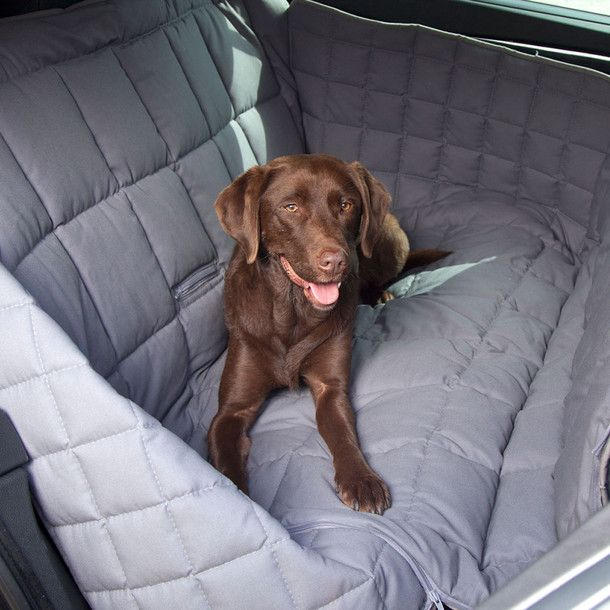 Car Seat Cover - protects the entire length of the back seat and the door panels. Washable and filling is breathable and retains it's shape.