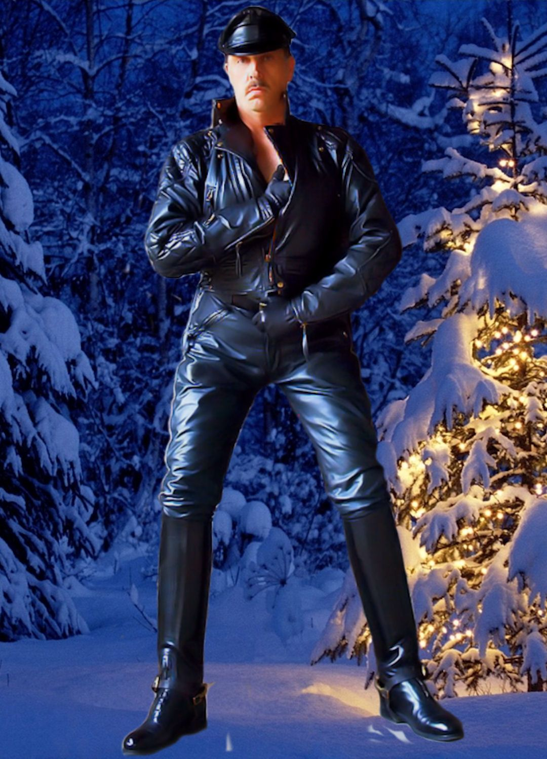 Leather, Rubber, Boots & Breeches : Photo