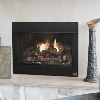 The Pacific Energy Casco Flush Fireplace Is Ideal For Rooms In