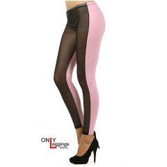 Split Mesh Leggings