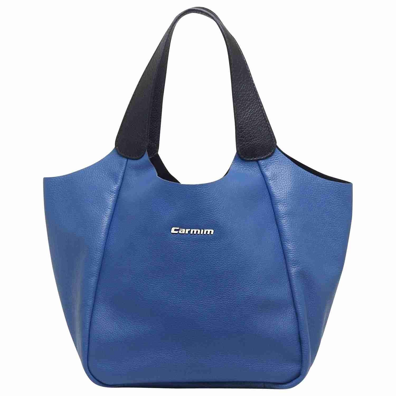 56e4ebf46 Bag / bolsas Bolsas de couro Bolsa couro nadia azul oceano/preto - Carmim  Store LIIINDAAAA
