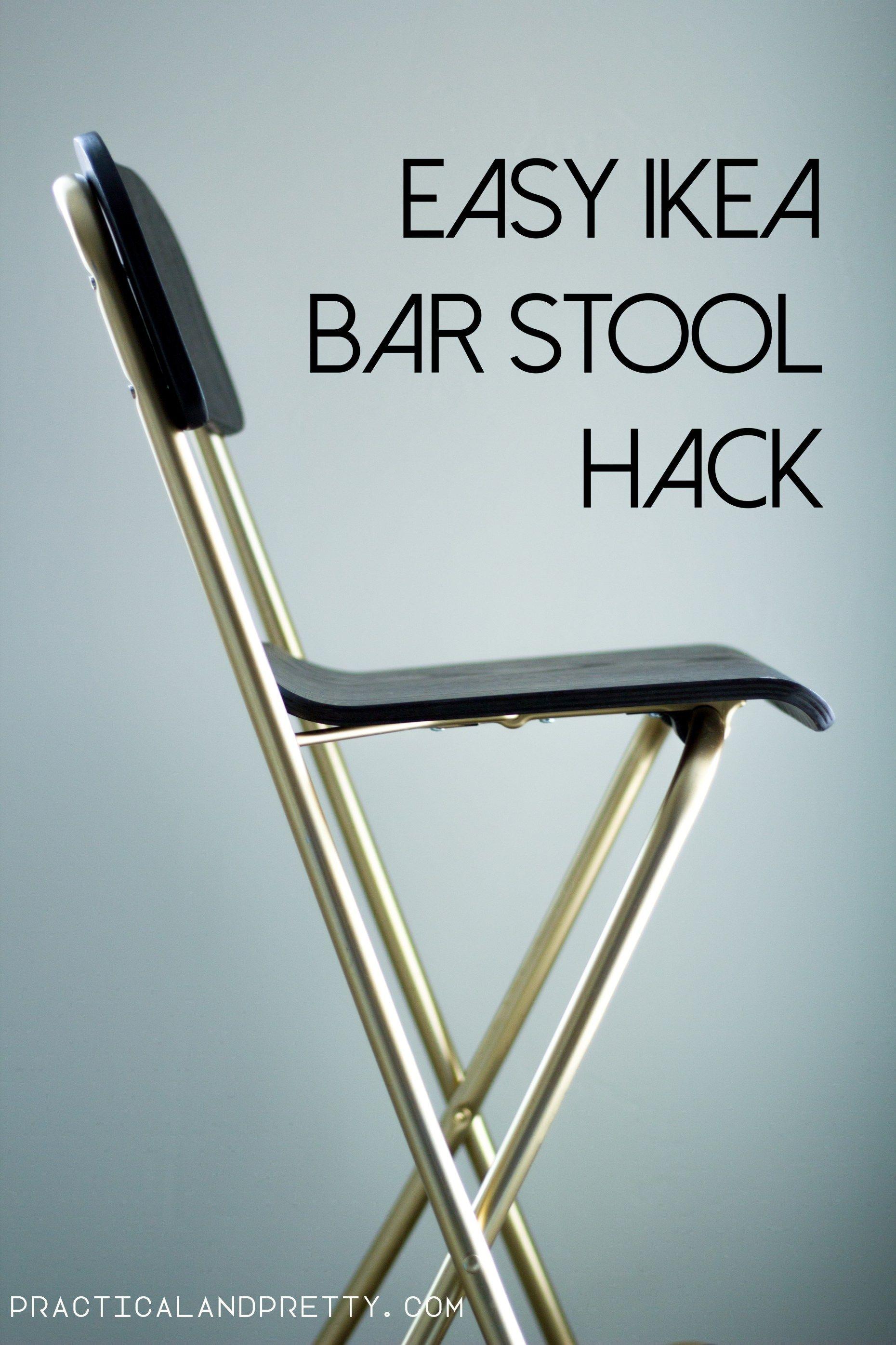Pleasant 40 Easy Ikea Bar Stool Diy Practical And Pretty Diy Bar Ibusinesslaw Wood Chair Design Ideas Ibusinesslaworg
