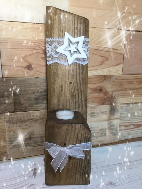 Christmas Christmas decoration Christmas wood pallet Light vintage #weihnachtenholz