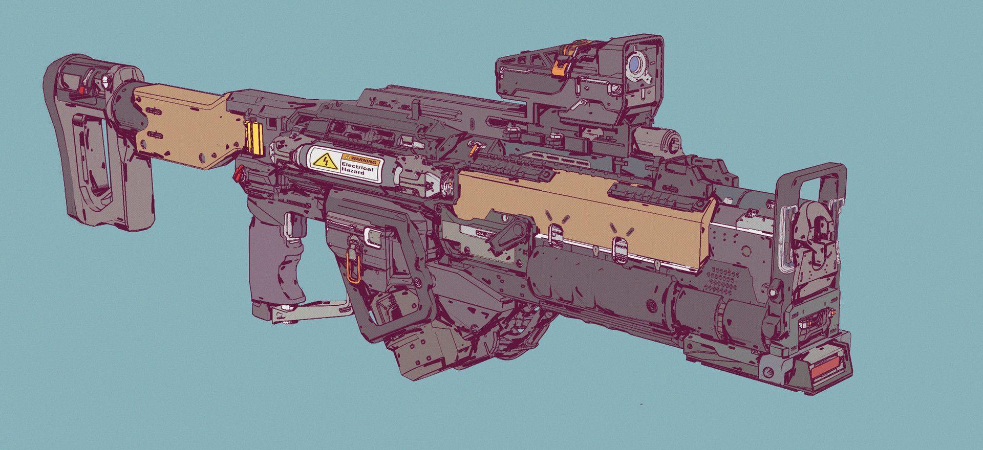 ArtStation - Gun Run_16, Elijah McNeal