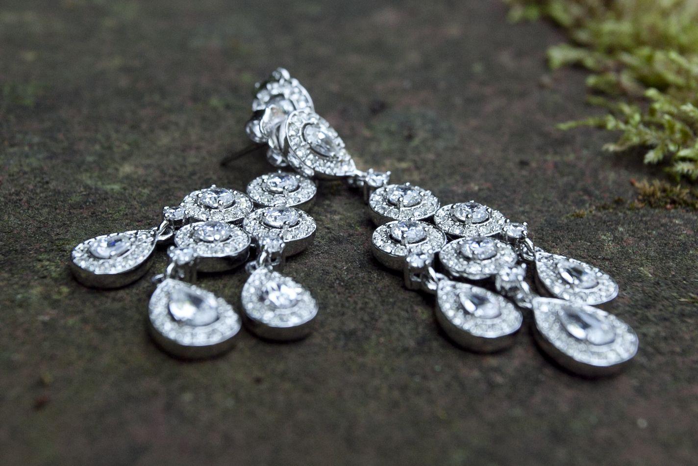 Nadri Earrings Bridal Jewelry Wedding ideas Pinterest Bridal