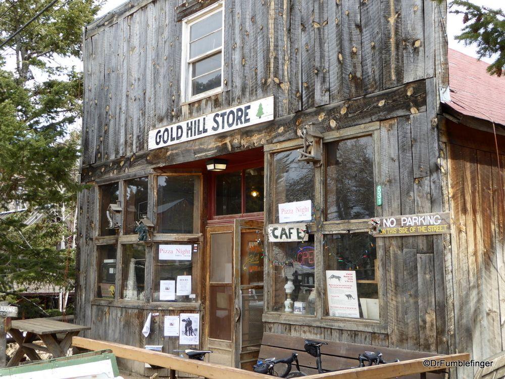 A Stroll Down Main Street Gold Hill Colorado Gold Hill Colorado Main Street