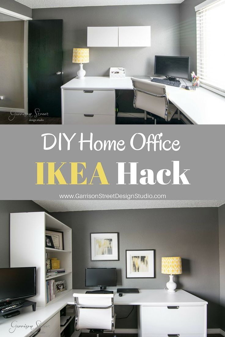 A Real Home Office  Home office layouts, Ikea home office, Home