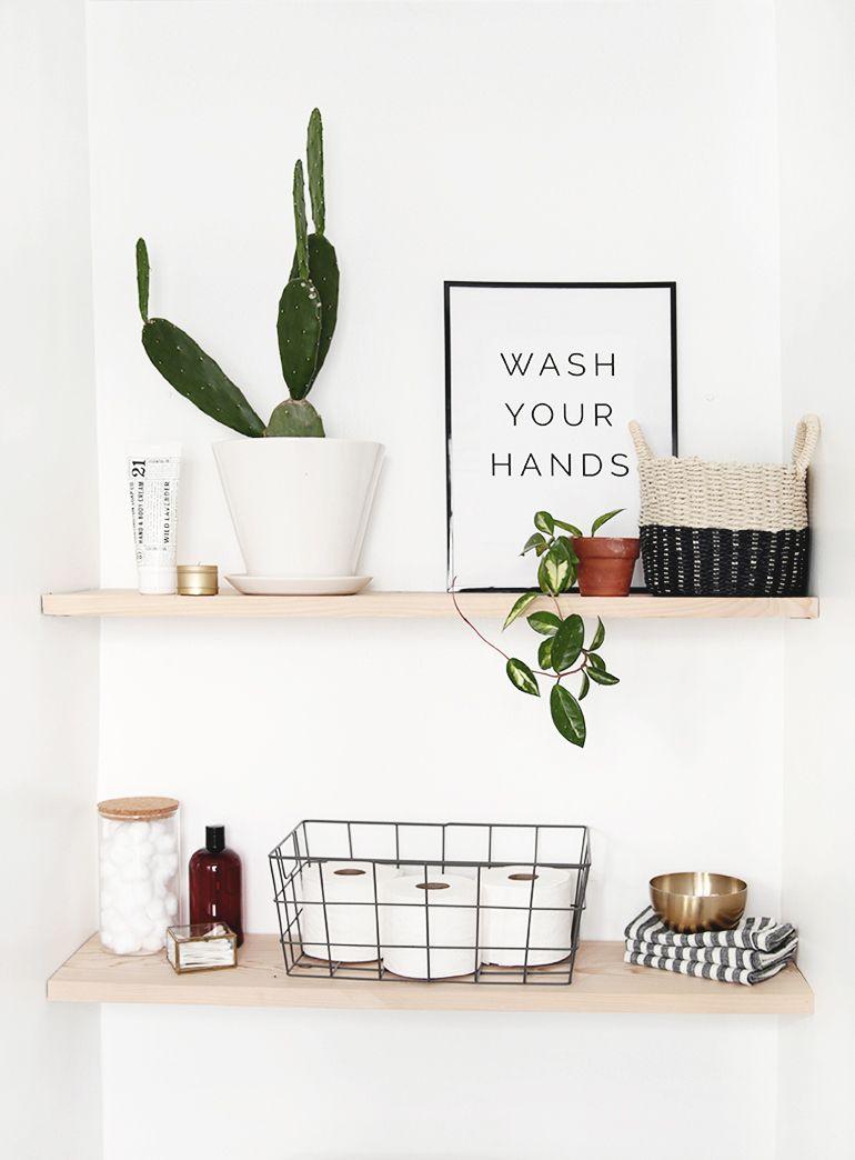 Photo of DIY Bathroom Shelves