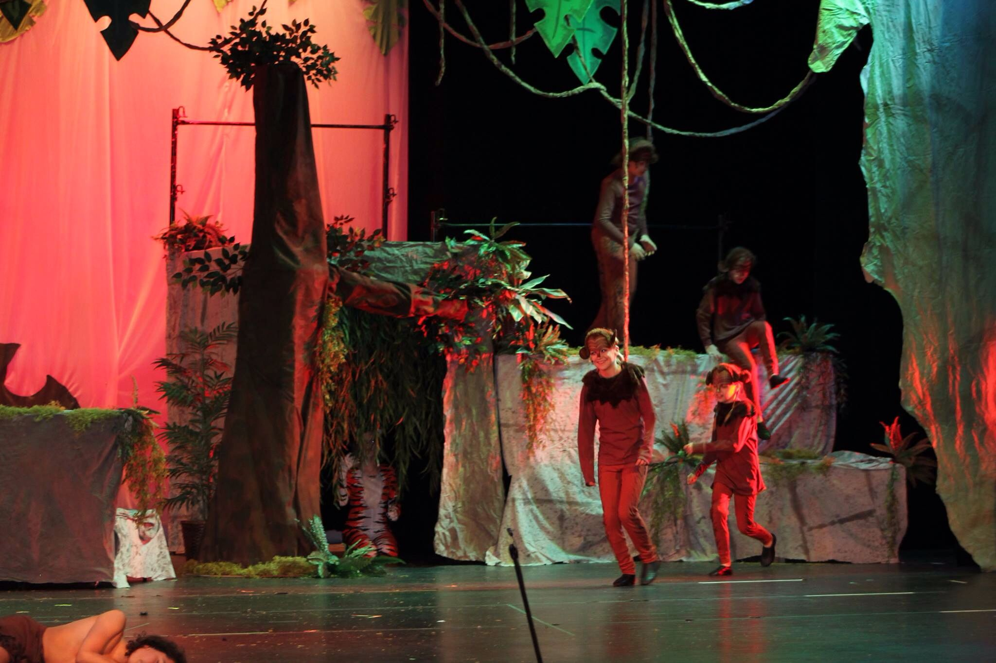set design the jungle book by brian ebbinghaus design ideas
