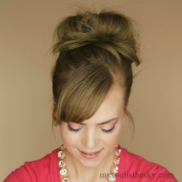 Latest Hairstyles Com Enchanting My Soul Is The Sky Messy Bun Tutorial  Hair Tutorials  Pinterest