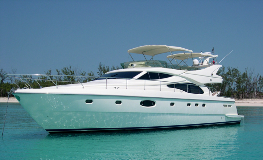 Charter Fleet 59 Ferretti Boat