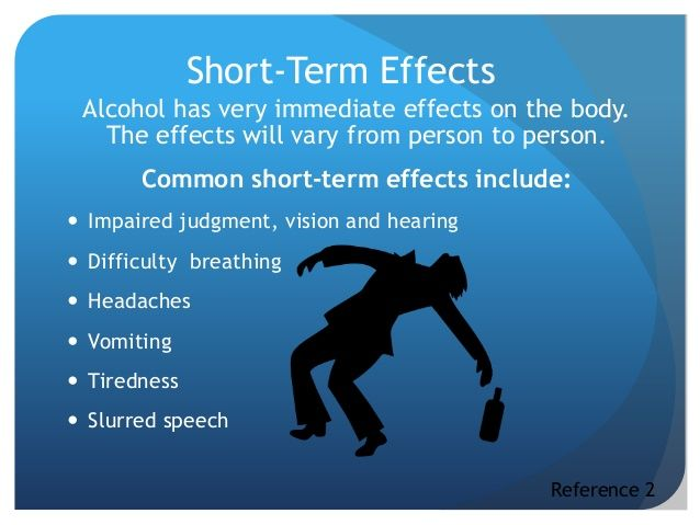 Immediate And Long Term Effects Of Binge Drinking