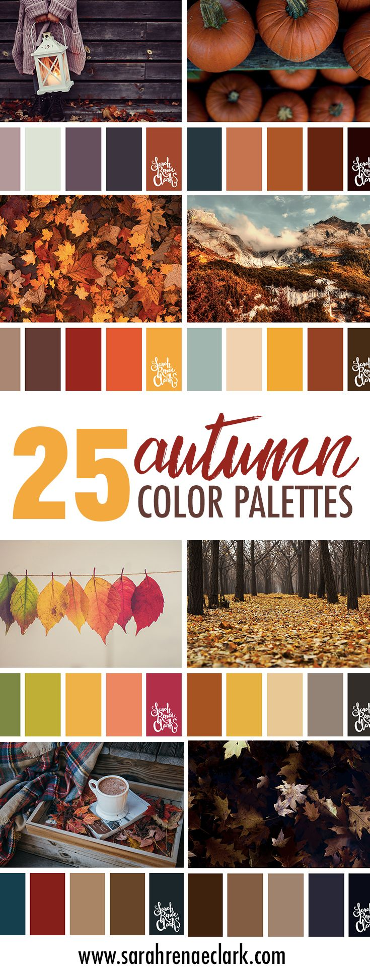 Book color scheme - 25 Autumn Color Schemes Click For More Fall Color Combinations Mood Boards And Seasonal