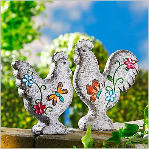 Figurki Dekoracyjne Kurka I Kogut 2 El Dom I Styl
