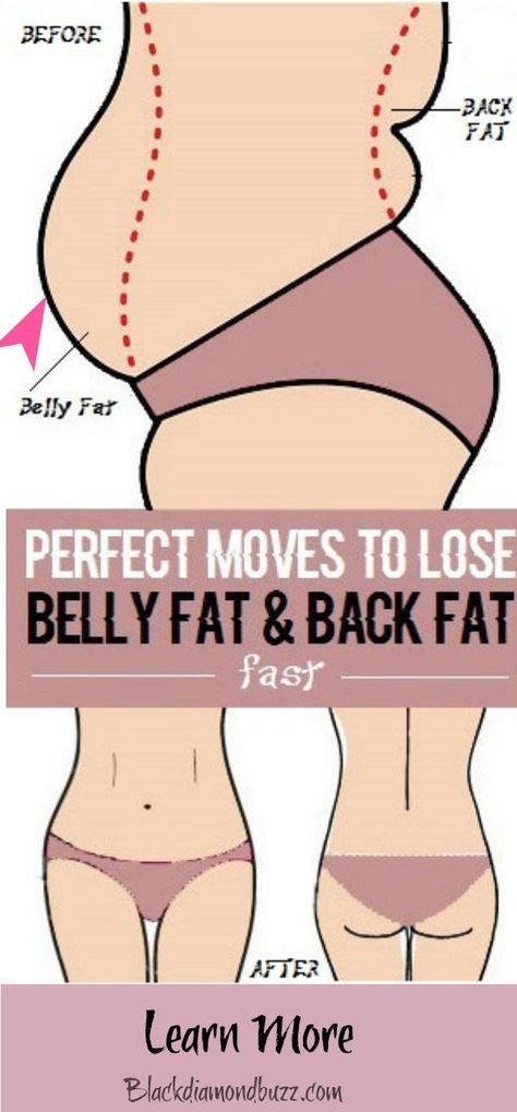 how to get rid of lower back fat