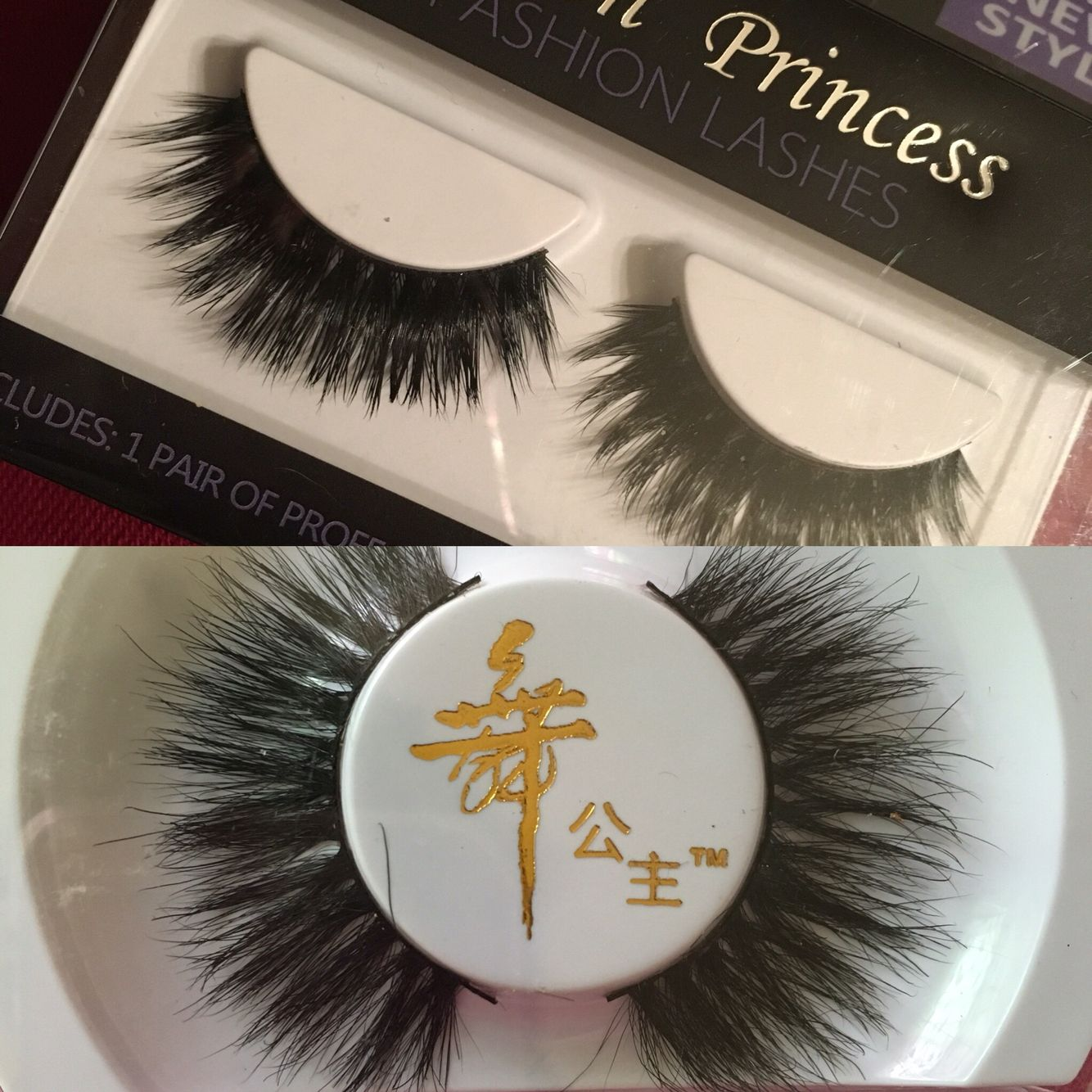 689673e06d5 2 Pair Authentic Mink Lashes Maquillaje Maquillaje mac y