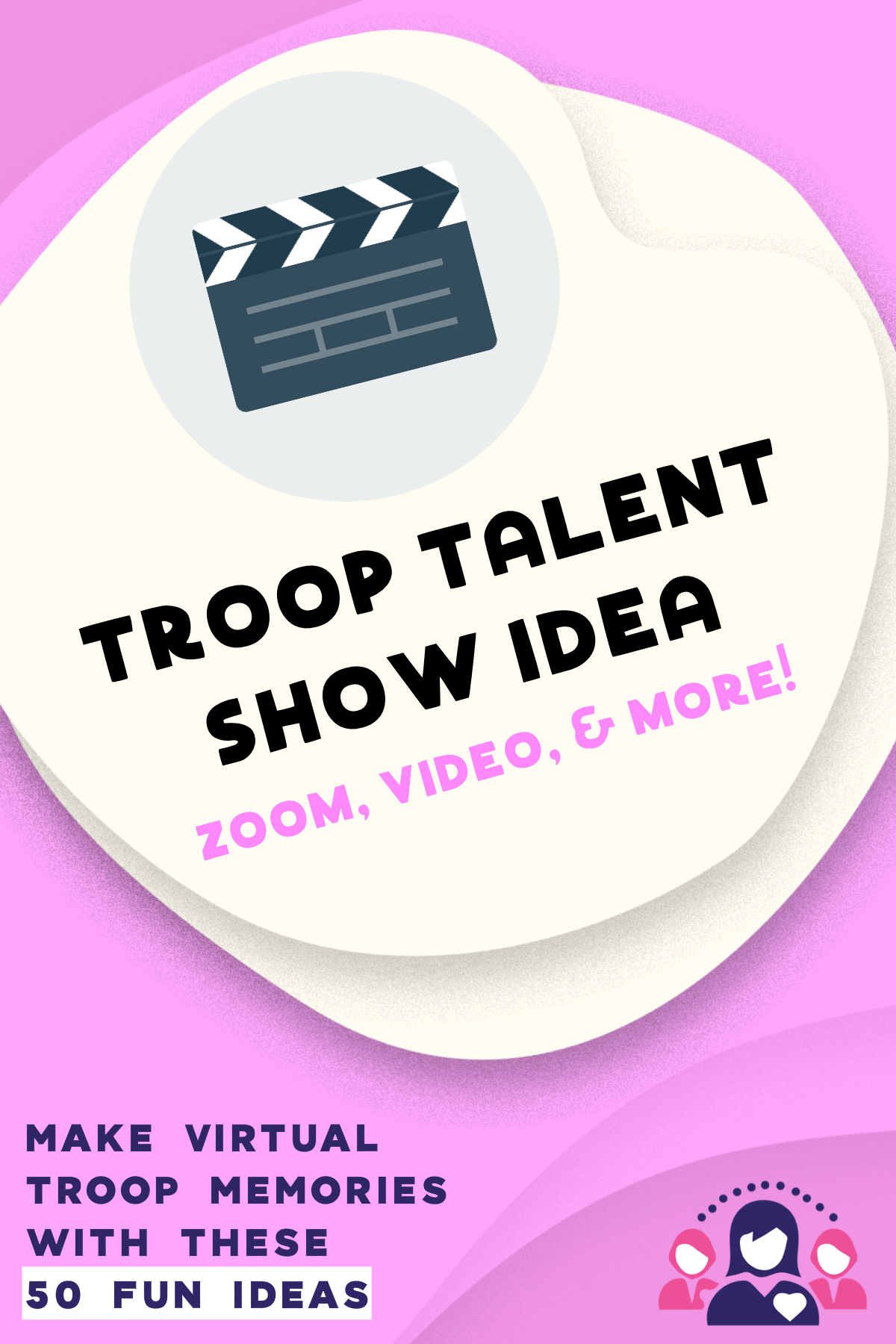 50 Fun Games And Activities To Try At Your Virtual Troop Meetings Leader Connecting Leaders Girl Scout Meeting Ideas Girl Scouts Cadettes Brownie Girl Scouts