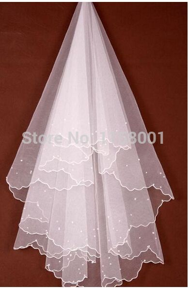 In Stock Cheap 2015woman bridal veils New Arrival Sexy Pearls vestidos de fiesta White Ivory Woman Lace Bride Veils2015 - http://www.aliexpress.com/item/In-Stock-Cheap-2015woman-bridal-veils-New-Arrival-Sexy-Pearls-vestidos-de-fiesta-White-Ivory-Woman-Lace-Bride-Veils2015/32264786573.html